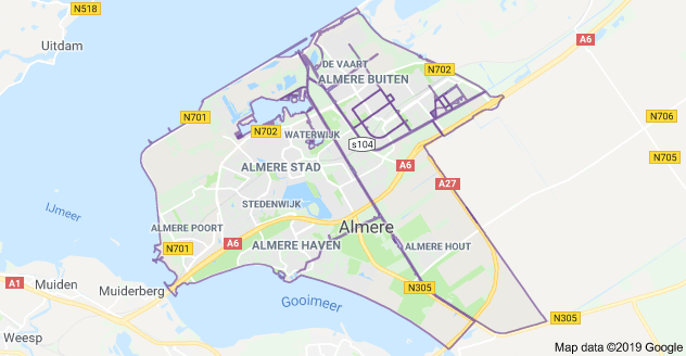 Almere witgoed